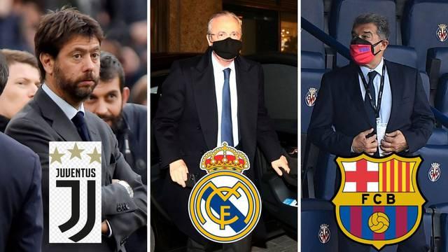 Uefa u problemu: Ako izbaci Real, Barcu i Juve iz Lige prvaka morat će im platiti milijune?!