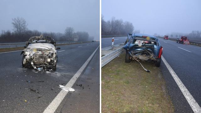 Vozač iz Srbije skrivio je sudar, u drugom autu bila i trudnica...