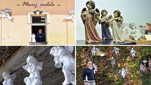 Ljubav prema anđelima prerasla je u Muzej: Željko Prstec čuva više od 500 'svjetskih' anđela