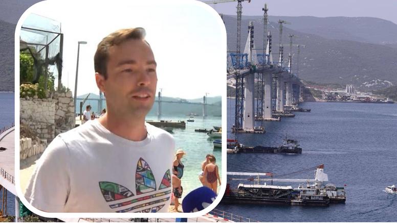 'Pelješki most mi puno znači jer mi je punica rekla da će se baciti s njega ako se ikada sagradi...'