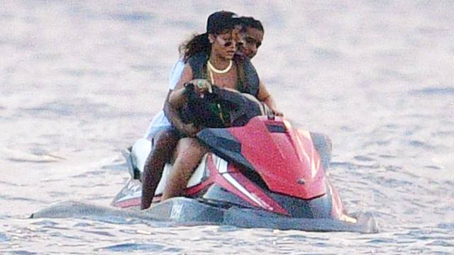 *PREMIUM-EXCLUSIVE* Rihanna and ASAP Rocky enjoyed some tender loving moments out on their fun seeking holiday together in Barbados. *MUST CALL FOR PRICING*