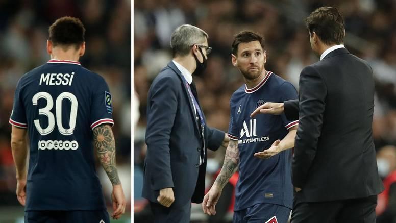 VIDEO Messi 'odbio' pozdraviti Pochettina, prozivaju ga: Još nije zabio gol u 'farmerskoj' ligi