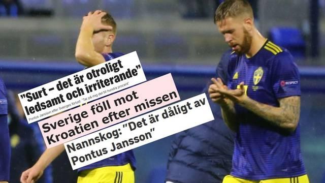 Švedski mediji krive Janssona: 'Nevjerojatno tužno i iritirajuće'