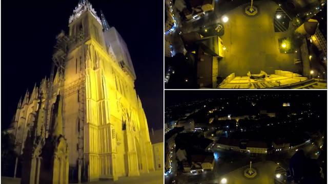 Policija o skakaču s Katedrale: Ništa zato, nije nikoga smetao