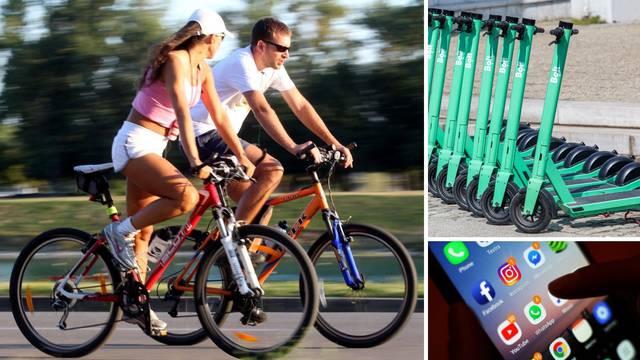 Vodič za najam bicikla u našim gradovima: Možete se voziti već od četiri kune, a ima i dječjih...