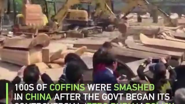 Bagerima su uništili na tisuće lijesova: 'Kremirajte pokojnike'