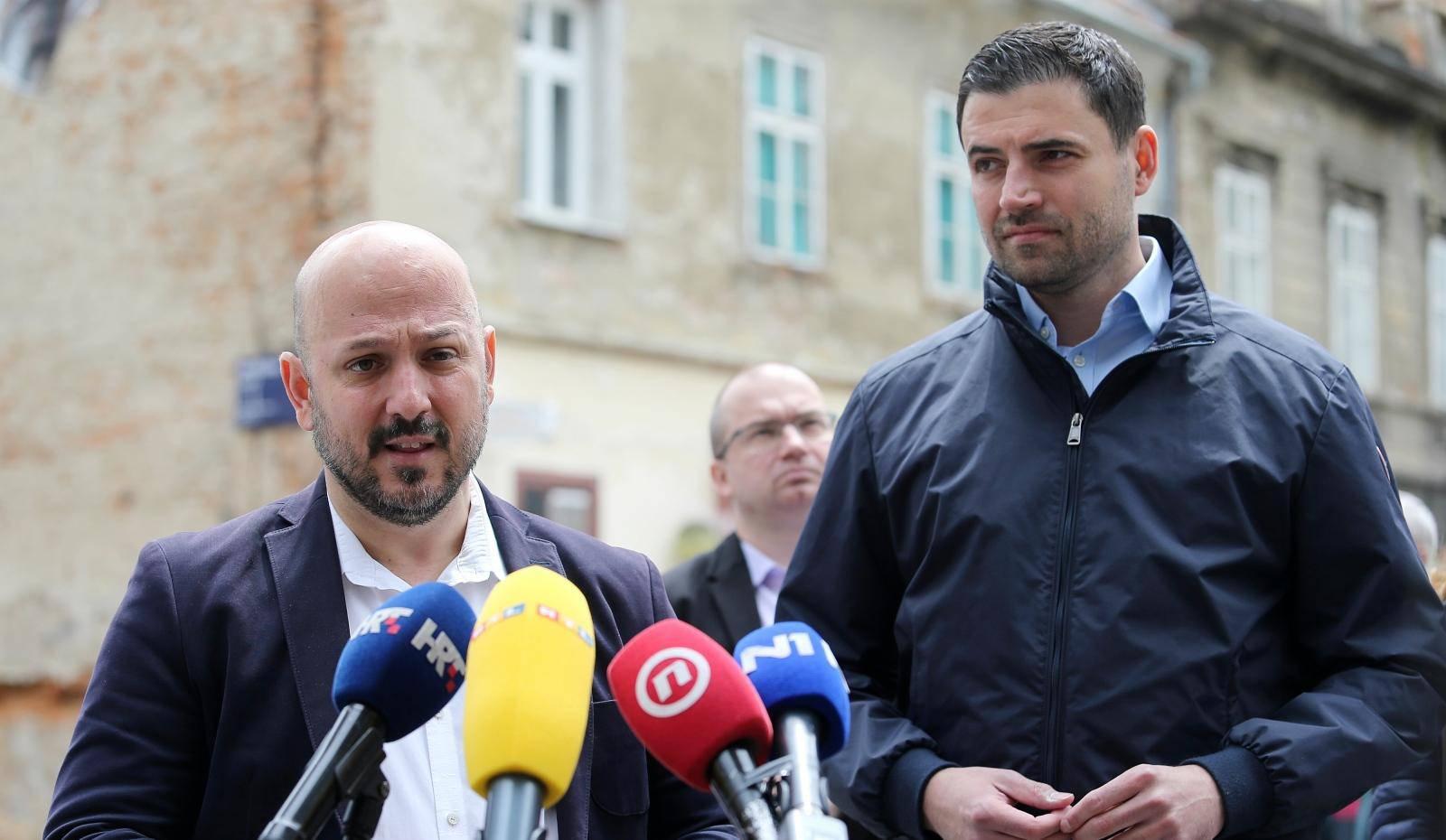 Zagreb: U povodu Dana Grada Zagreba medijima se obratili Gordan Maras i Davor Bernardić