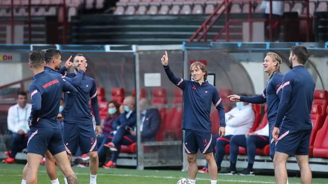 UEFA Europsko prvenstvo 2020, Hrvatska odradila trening uoči sutrašnjeg sraza sa Škotskom