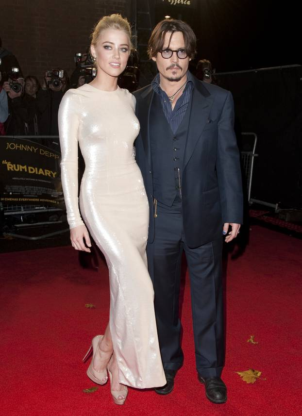The Rum Diary premiere - London