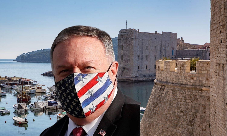 Pompeo stiže u Dubrovnik: Oko zidina snajperi, zavarit će sve šahtove, makli su kontejnere