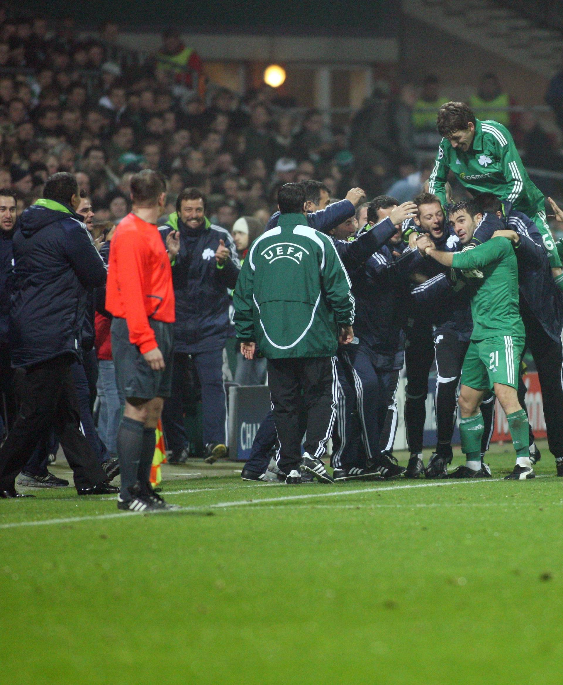 CL 08/09 Werder Bremen ( GER ) vs Panathinaikos Athen ( GRE ) 0:3