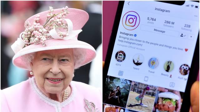 Kraljica i Instagram