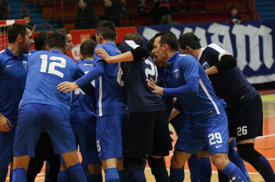 Remi Nacionala i Splita, Futsal Dinamo došao na drugo mjesto