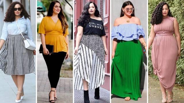 20 ljetnih kombinacija za punije žene: Istaknite ženstvene obline