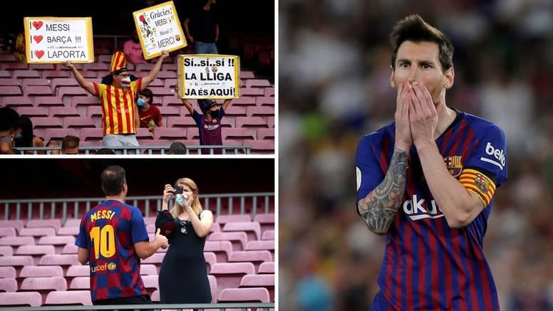 Pogledajte kako su se navijači naklonili Leu Messiju! Barca slavila uz dosta muke na kraju