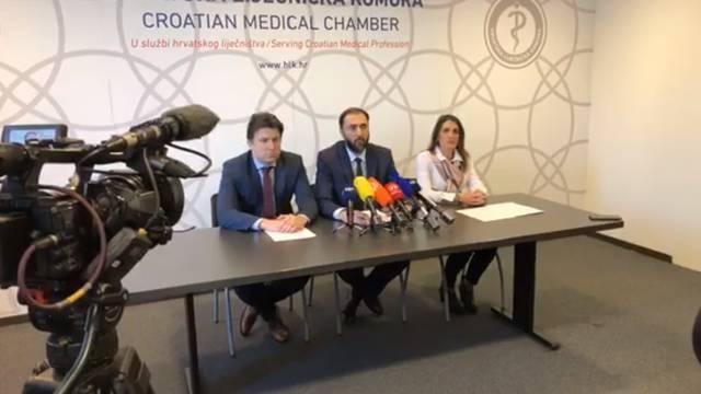 HLK: Nećemo dopustiti hajku i govor mržnje prema liječnicima