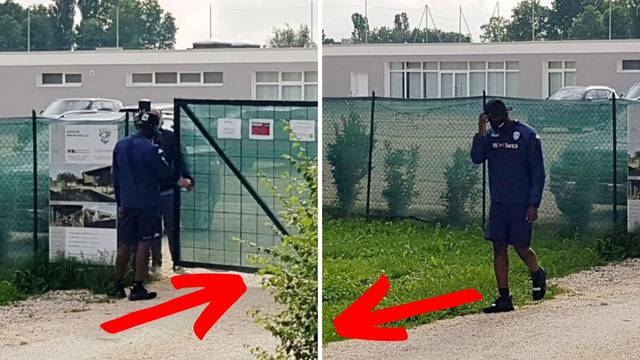Džaba si došao: Balotelli stigao na trening, zaštitar ga potjerao