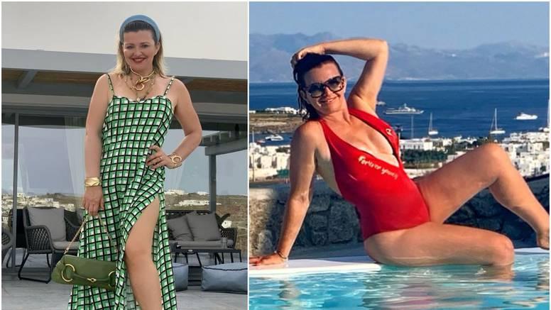 Snježana Mehun na odmoru u  Grčkoj istaknula svoje atribute u dekoltiranom kupaćem kostimu