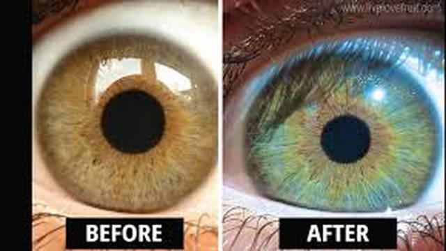 'Moje oči su promijenile boju - otkako jedem drugačiju hranu'