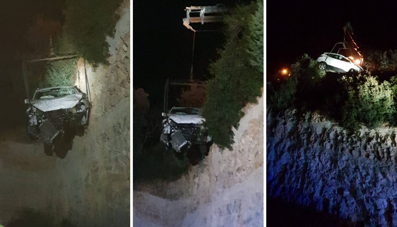 Pao autom u provaliju duboku 30 metara: 'Kako je preživio?'