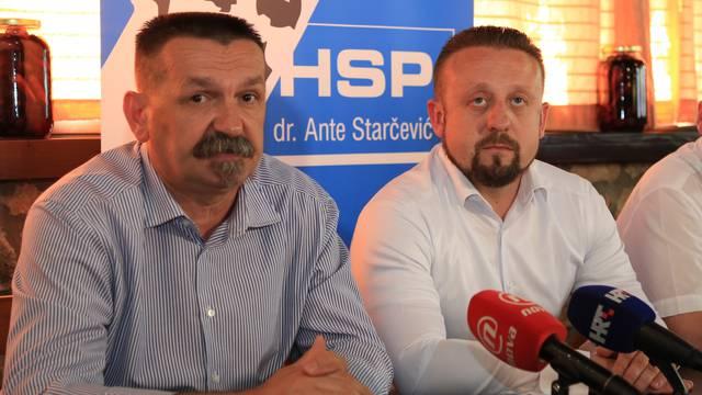Tepeš i Ćorić: Iz HSP AS otišlo tek 50-ak, a ne 1300 članova