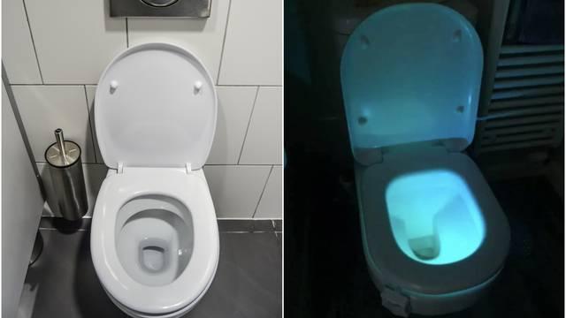 Svjetlo za WC školjku pravi je hit: S njim neće biti 'promašaja'