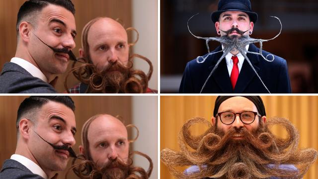 Od kovrča do 'grive': Izbor za najluđe brkove i bradu u Belgiji