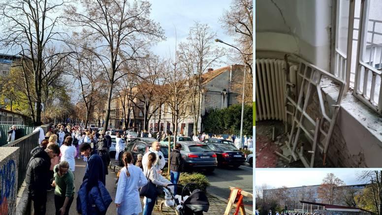 U Klaićevoj operirali, a u Sisku se rodila beba: Covid pacijenti iz Petrinje i Siska voze u Dubravu