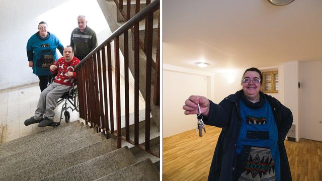 Obitelj iz Obrovca nepokretnog sina 20 godina nosila na 3. kat