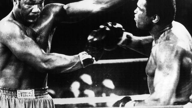 Boxing: Muhammad Ali knocks out George Foreman
