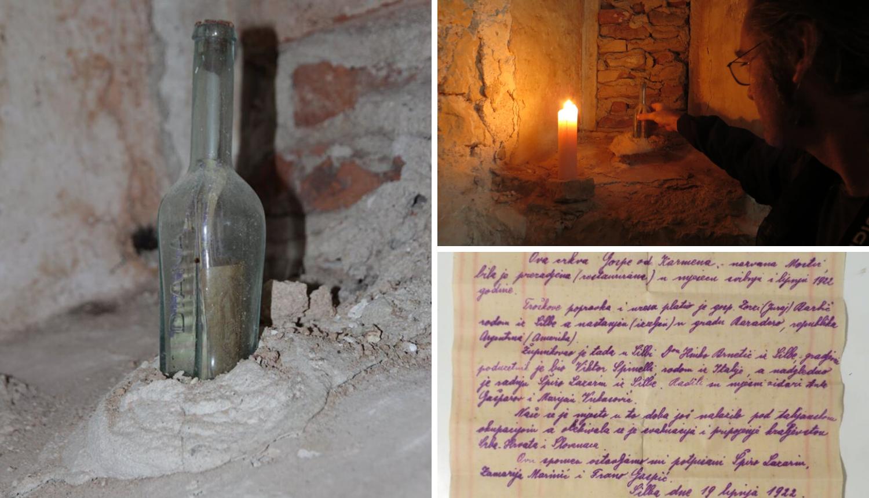 Otkrivena tajna boce s pismom iz 1922. na kojoj piše 'Diana'...