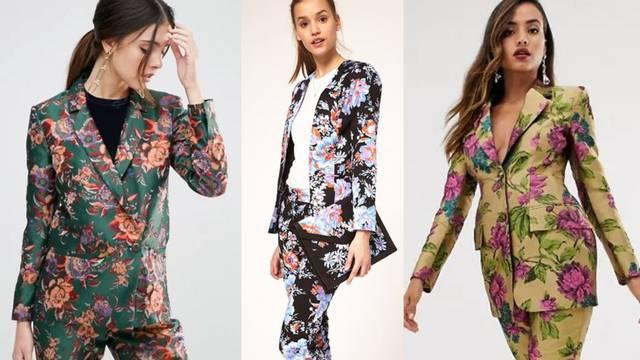 Odijelo s motivom cvijeća: 10 načina kako nositi hit komplet