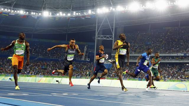 Athletics - Men's 100m Final