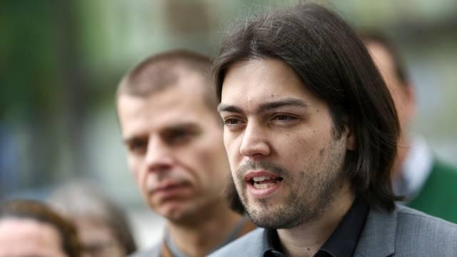 Zagreb:  Živi zid predstavio svoju èetvrtu toèku programa