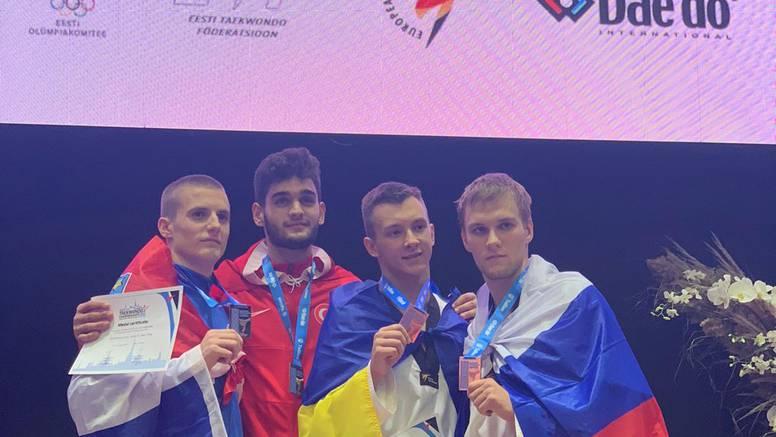 Berba medalja za hrvatski taekwondo: Božić srebrni!