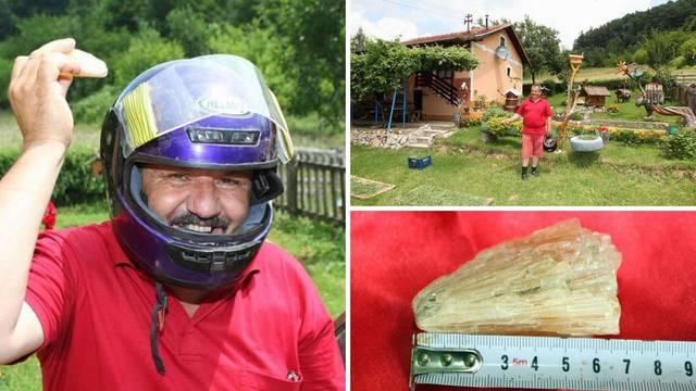Misterij iz Prijedora: U njegov vrt stalno padaju meteoriti...