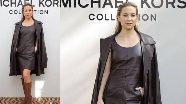 Kate Hudson u boji čokolade: Kožnata haljina i antilop čizme