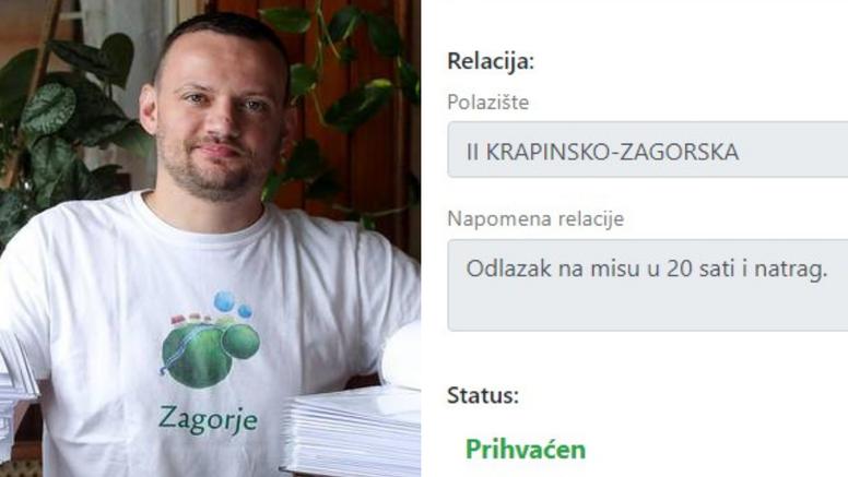 Odobrili mu propusnicu za misu u Zagrebu: Napisao sam da mi to daje duhovni i božićni mir!
