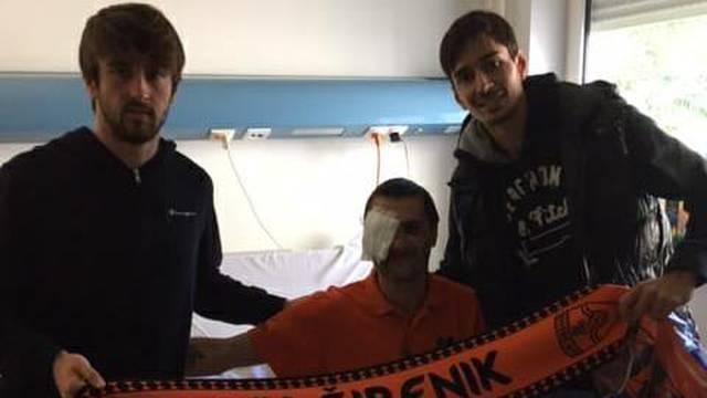 Kapetani ga posjetili u bolnici: 'Igore, želimo ti brzi oporavak'