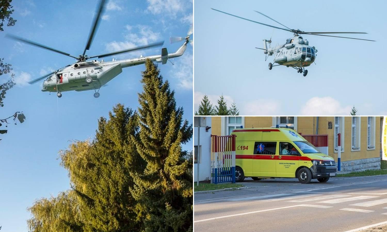 Motorist pao u provaliju od 30 metara, izvlačio ga helikopter