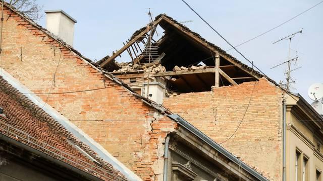 Čišćenje Zagreba nakon potresa