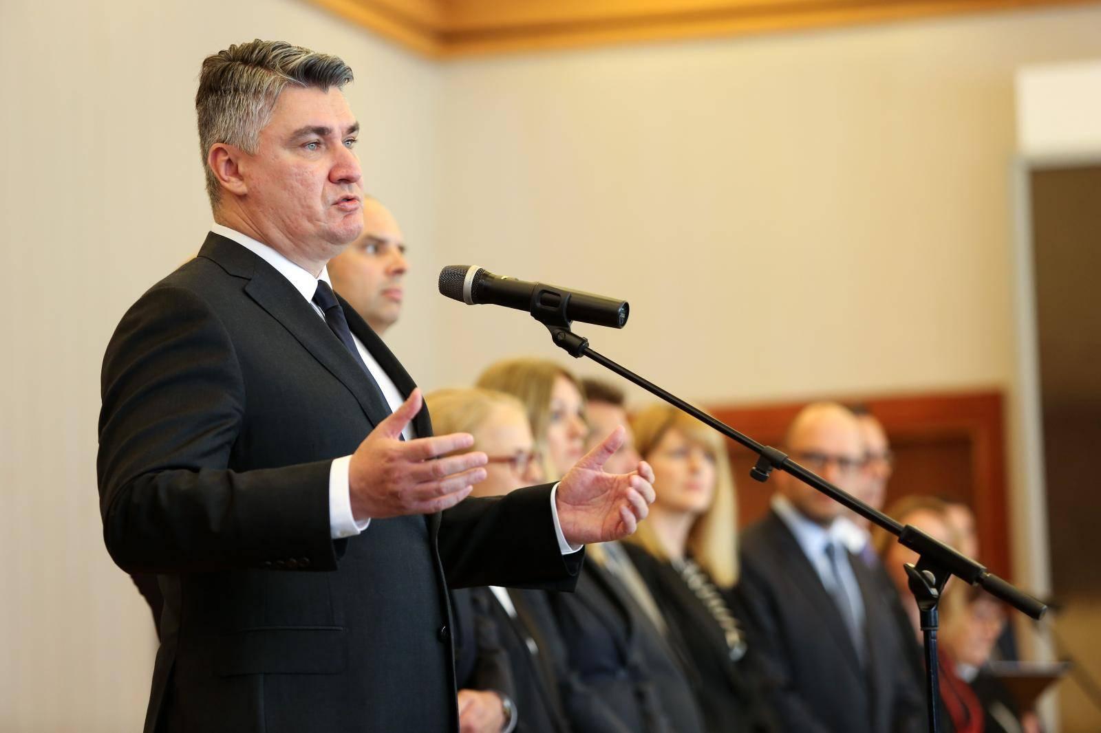Zagreb: Predsjednik Milanović primio šefove diplomatskih misija i međunarodnih organizacija