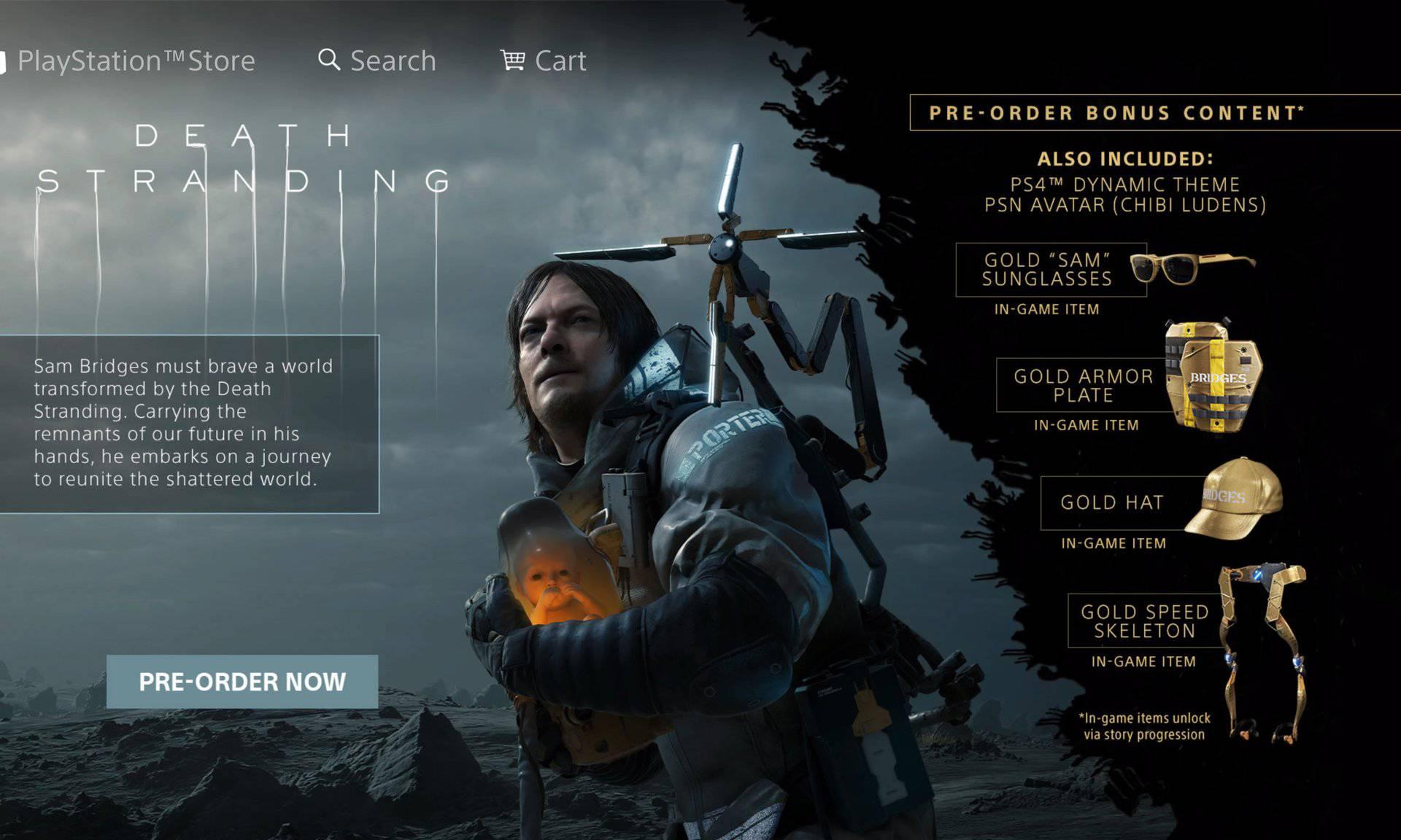 Sonyjev gaf otkrio nam je nove detalje o igri Death Stranding