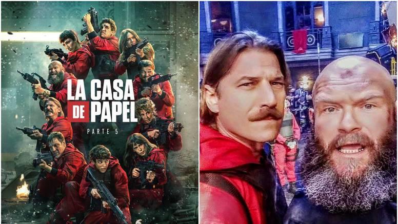 Luka Peroš  sa srpskim glumcem najavio petu sezonu Netflixove serije: 'Još četiri tjedna, kume!'