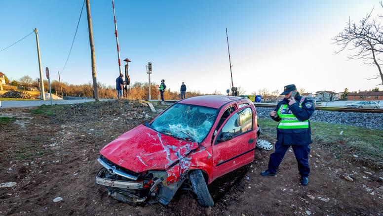 S 2,3 promila se zabio u vlak u Istri: 'Ja se niš' ne sjećam'