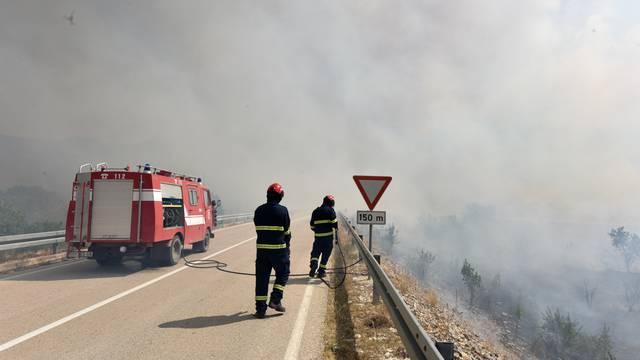 Palio požare kod Kistanja, ali neće ga goniti jer je neubrojiv