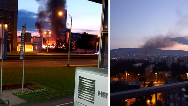 Zagreb: Gorio napušteni vagon