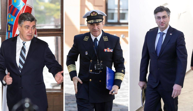 Hranj postaje načelnik Glavnog stožera: Prvi šef iz mornarice