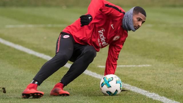 First training session Eintracht Frankfurt