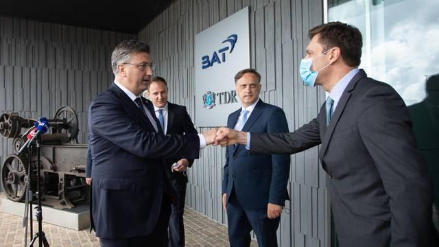 Posjet premijera Andreja Plenkovića Tvornici duhana Rovinj